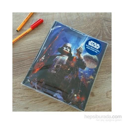 Star Wars Darth Vader Musical Notebook Müzikal Defter