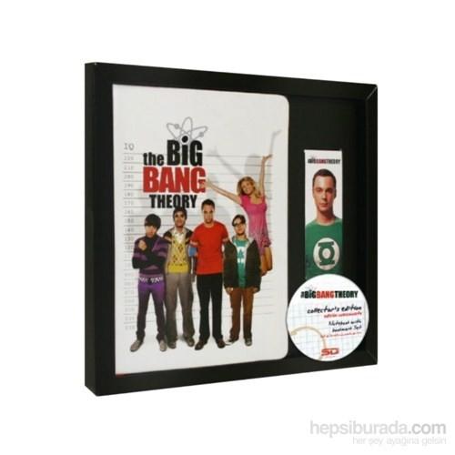 Big Bang Theory Notebook & Bookmark Set Defter
