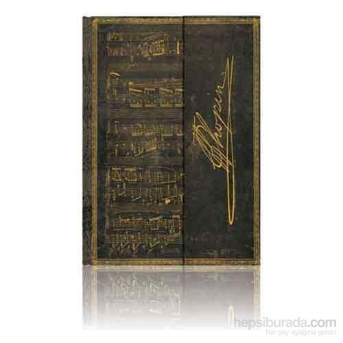 Paperblanks Chopin Polonaise Ultra Çizgili - 180 X 230 Mm. 1020-3 Defter