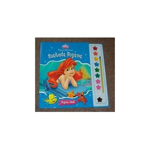 Küçük Denizkızı Boyama Kitabı Sulu Boya Hediyeli Kolektif Fiyatı