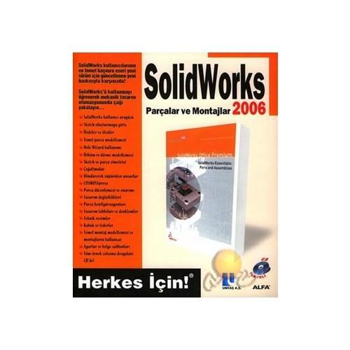 Solidworks Parçalar Ve Montajlar 2006 ( Cd'li )