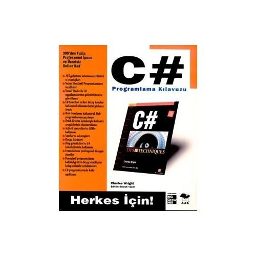 C# Programlama Klavuzu - Herkes İçin