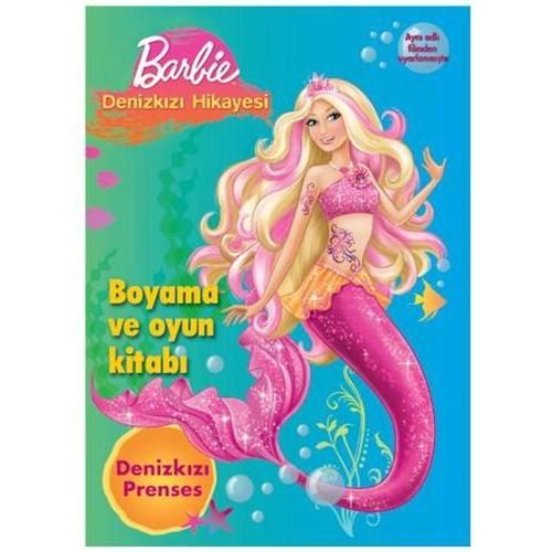 Barbie Deniz Kızı Hikayesi Boyama Oyun Kitabı Fiyatı