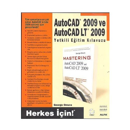 Autocad 2009 Ve Autocad Lt 2009 - Yetkili Eğitim Kılavuzu