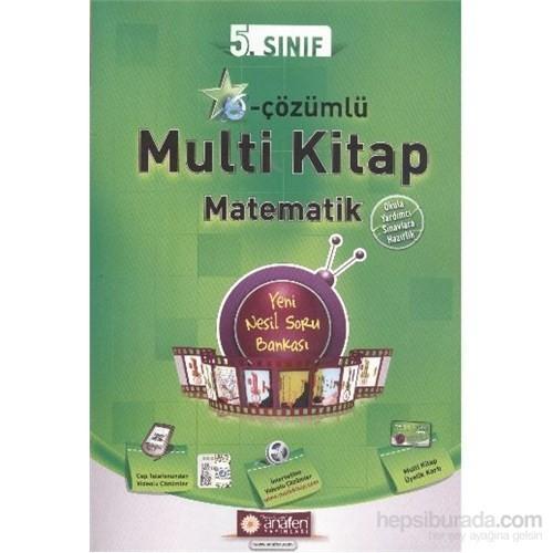 Anafen 5. Sınıf E Çözümlü Multi Kitap Matematik