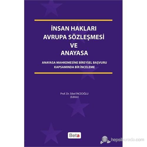 İnsan Hakları Avrupa Sözleşmesi ve Anayasa