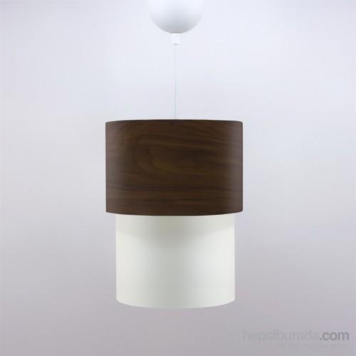 Crea Lighting Doubleshade Small Sarkıt(20Cm)/Wood/Betula