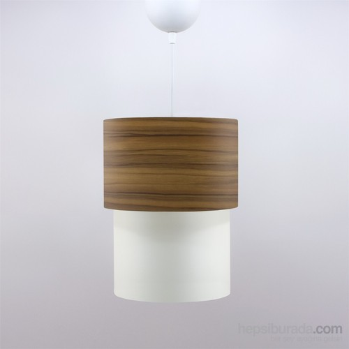 Crea Lighting Doubleshade Small Sarkıt(20Cm)/Wood/Elma
