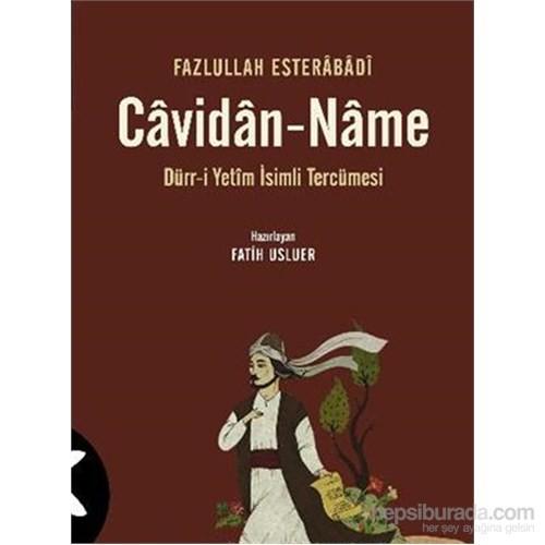 Cavidan Name-Fazlullah Esterabadi