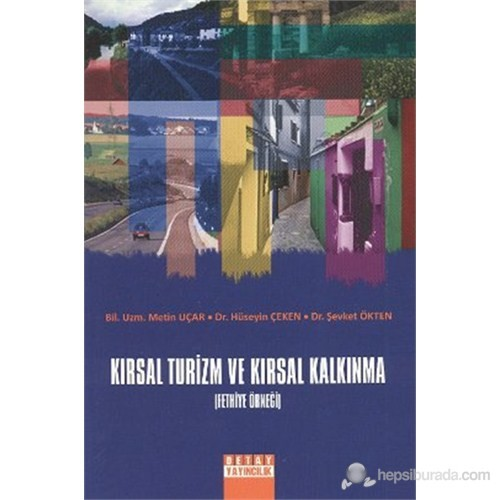 Kırsal Turizm ve Kırsal Kalkınma