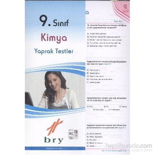 Birey 9. Sınıf Kimya Yaprak Testler