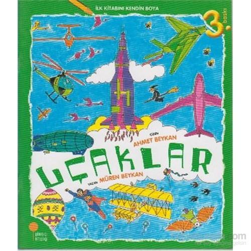 İlk Kitabını Kendin Boya 7 Uçaklar