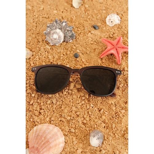 Morvizyon Clariss Marka Kahverengi Model Tasarım Çerçeveli Bayan Gözlük
