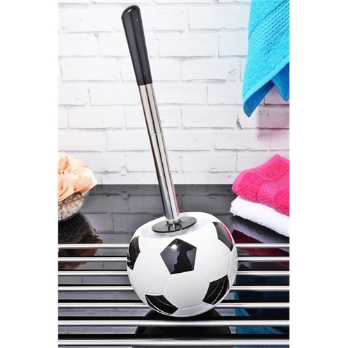 Futbol Topu Şeklinde Seramik Wc Fırçası