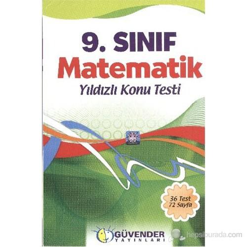 Güvender 9.Sınıf Matematik Konu Testi