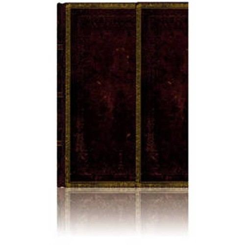Paperblanks 3-839-3 Black Moroc.Midi-Çizgili (Midi – 120 x 170 mm. 160 Sf)