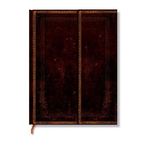 Paperblanks 2-844-7 Black Moroc.Ultra-Düz (Ultra – 180 x 230 mm. 144 Sf)