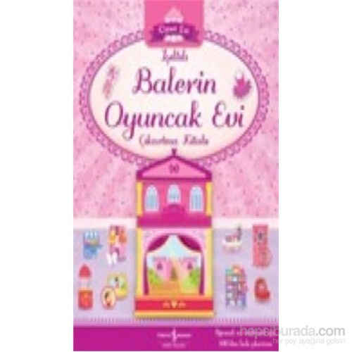 Işıltılı Balerin Oyuncak Evi Çıkartma Kitabı-Kolektif