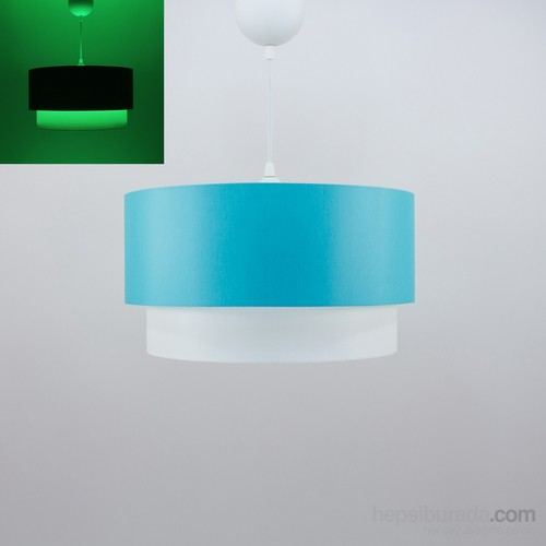 Crea Lighting Fosforix Sarkıt 40 Cm/Scala/Turkuaz