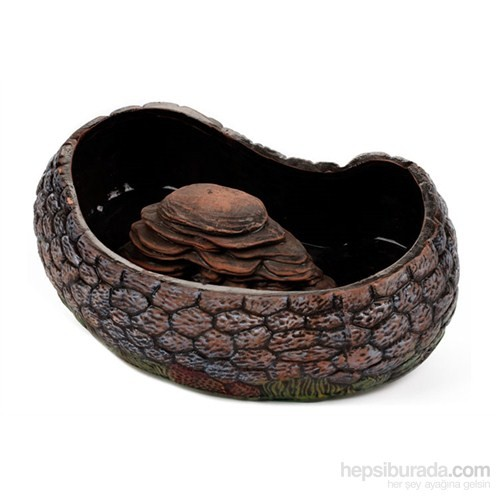 Akvaryum Dekor Kaplumbağa Bahçesi