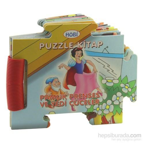 Puzzle Kitap Pamuk Prenses Yedi Cüceler
