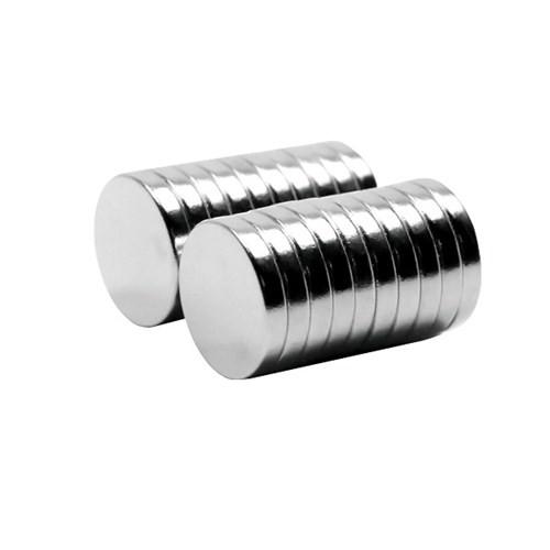 Neodyum Mıknatıs Silindir D12x2 mm (30'lu Paket)