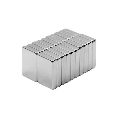 Neodyum Mıknatıs Blok 15x10x3 mm (10'lu Paket)
