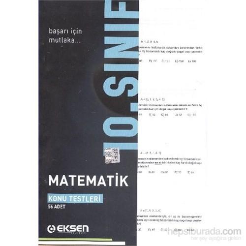 Eksen 10. Sınıf Matematik Yaprak Testler