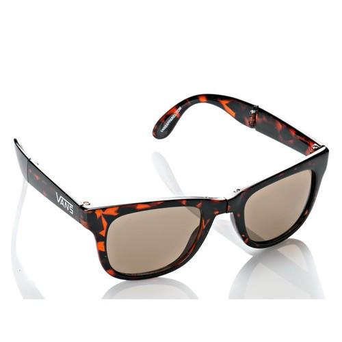 Vans Foldable Spıcolı Shades Siyah Turuncu Beyaz Unisex Güneş Gözlüğü