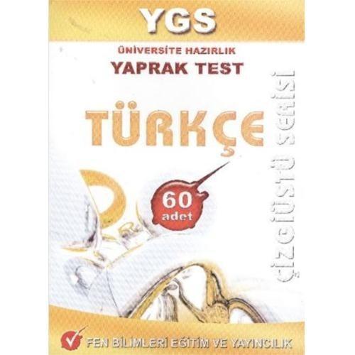 Fen YGS Türkçe Yaprak Test (Çizgiüstü Serisi)