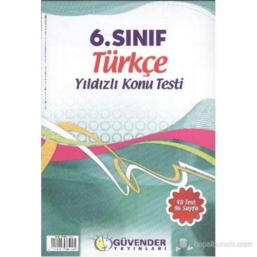 Güvender 6. Sınıf Türkçe K.T.
