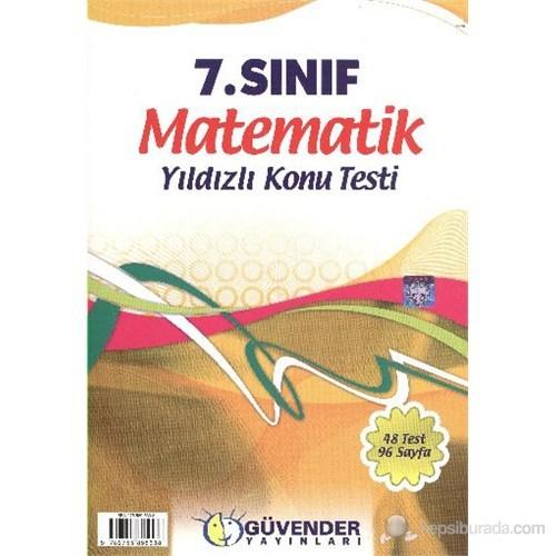 Güvender 7. Sınıf Matematik K.T.-Kolektif