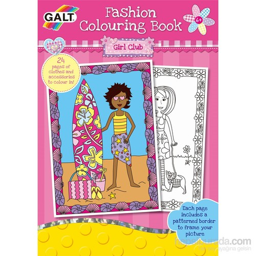 Fashion Colouring Book 6 Yaş+