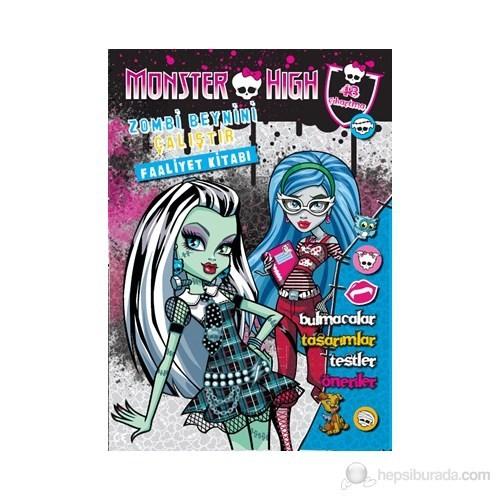 Monster High: Zombi Beynini Çalıştır (6 Yaş ve Üzeri)