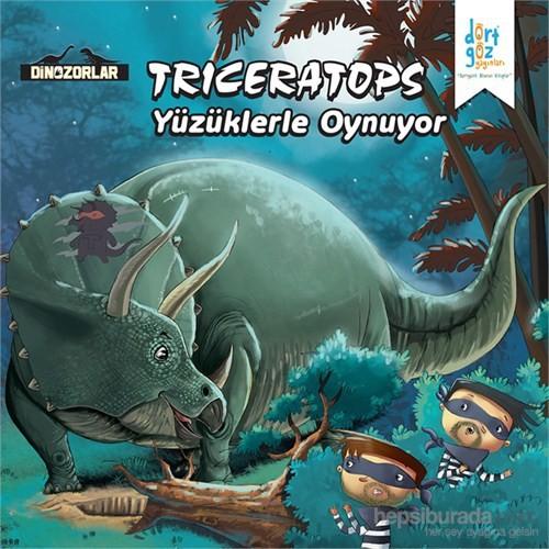 """Trıceratops """"Yüzüklerle Oynuyor"""""""