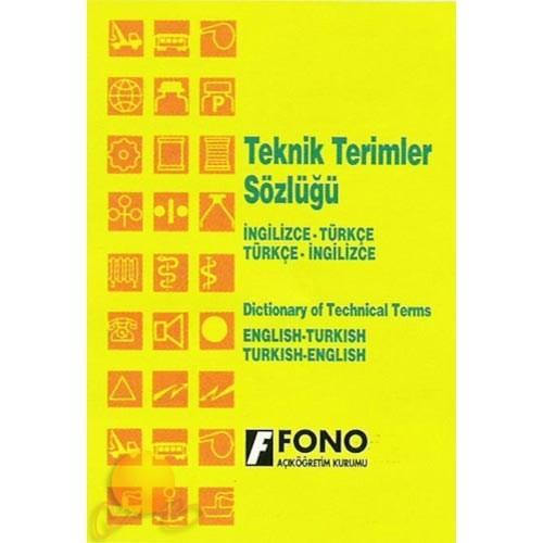 Fono İngilizce/Türkçe - Türkçe / İngilizce Teknik Terimler