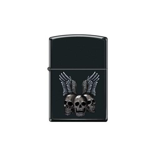 Zippo Ci017686 Skulls With Wings Çakmak