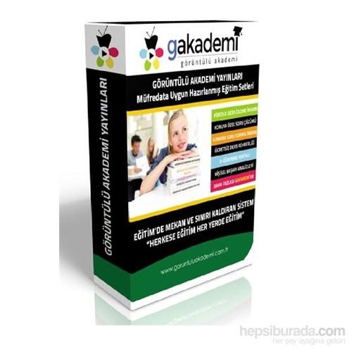 Görüntülü Akademi LYS2 Hazırlık Eğitim Seti 47 DVD + Rehberlik Seti