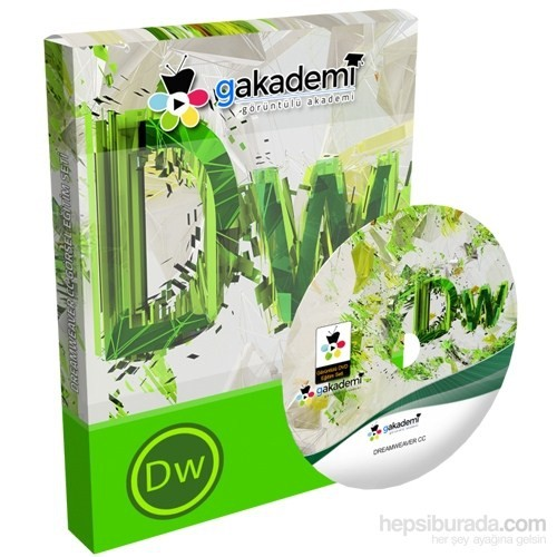 Dreamweaver CC Eğitim Seti