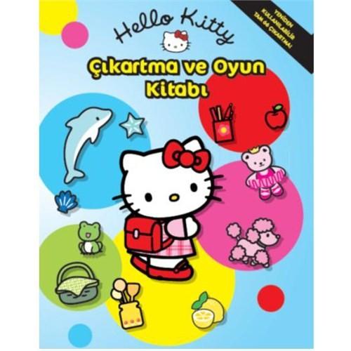 Hello Kitty Çıkartma Ve Oyun Kitabı
