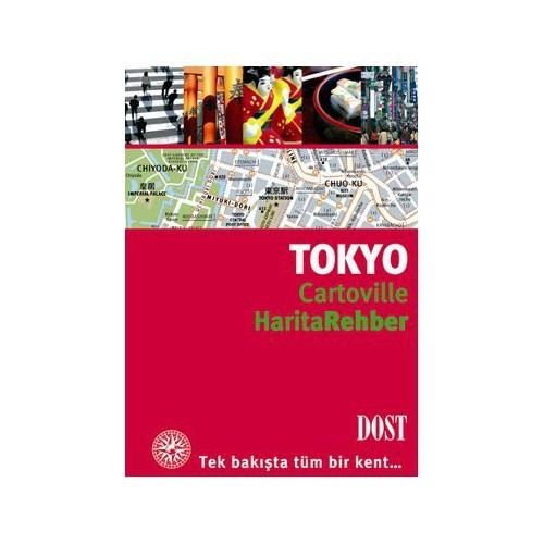 Cartoville Harita Rehber Tokyo-Cecile Parisot