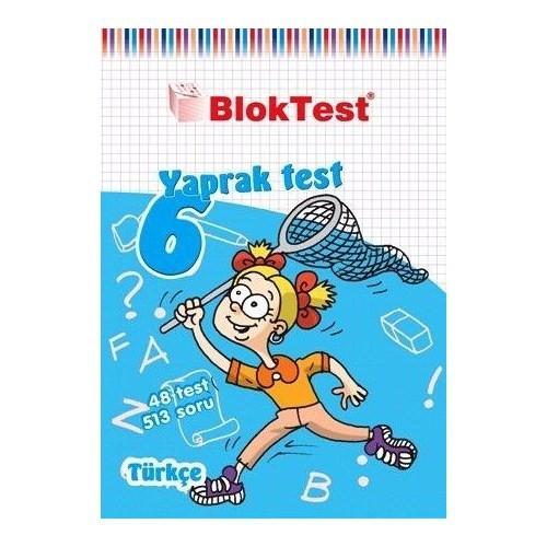 BlokTest 6. Sınıf Türkçe Yaprak Test