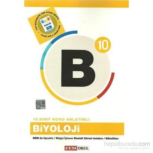 Fem 10. Sınıf Biyoloji Konu Anlatımlı