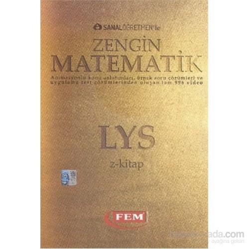 LYS Z-Kitap Sanal Öğretmenle Zengin Matematik