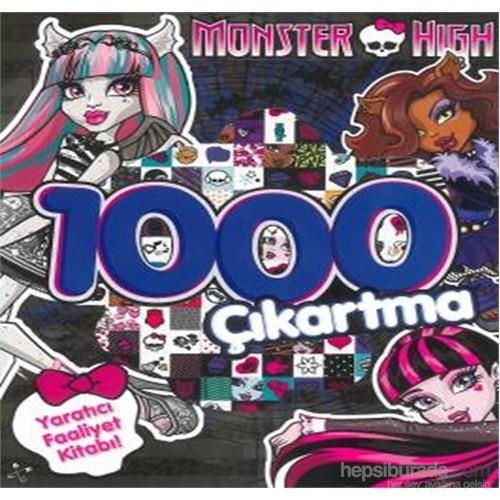 Monster Hıgh 1000 Çıkartma Yaratıcı Faaliyet Kitabı