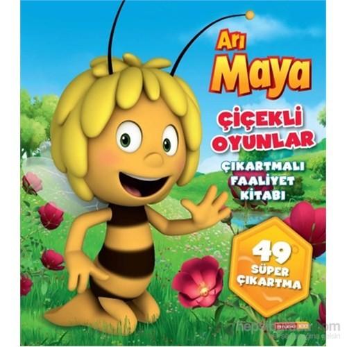 Arı Maya Çiçekli Oyunlar Çıkartmalı Faaliyet