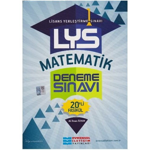 Evrensel Lys Matematik Deneme Sınavı 20'Li Fasikül-Ali İhsan Özkan