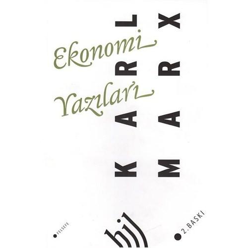 Ekonomi Yazıları-Karl Marx