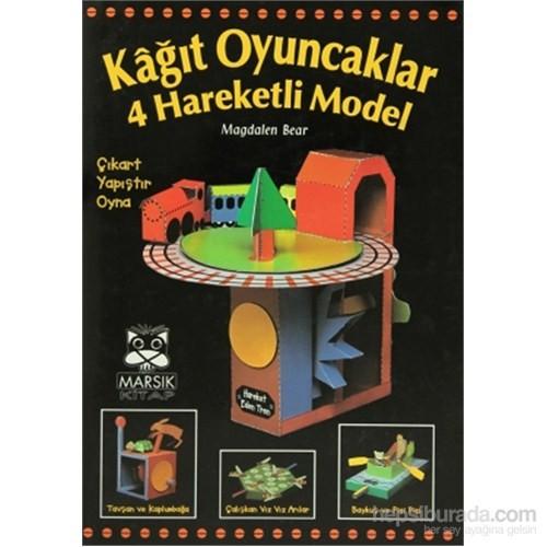 Kağıt Oyuncaklar 4 Hareketli Model