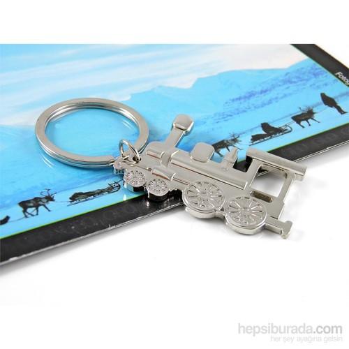 Solfera Tren Vagon Makinist Metal Anahtarlık Sıfır Kc376